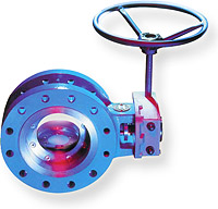 High Performance Triple Offset Butterfly Valve Image