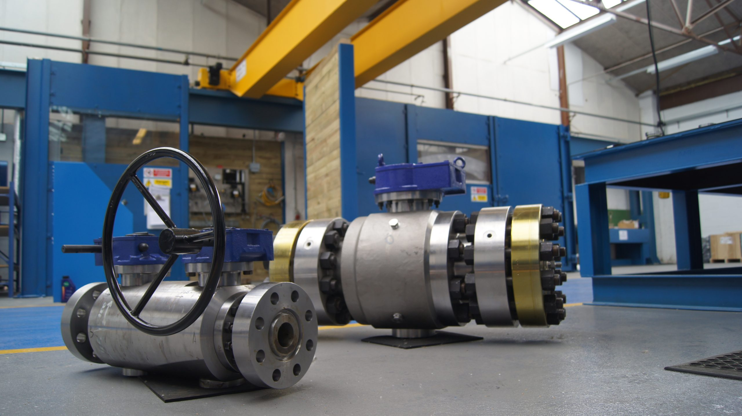 Trunnion Ball Valve Image
